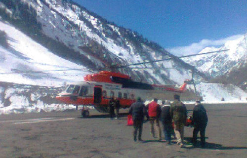 lahaul spiti helicopter service