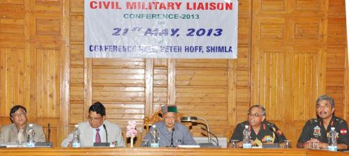 Civil Military Liaison conference