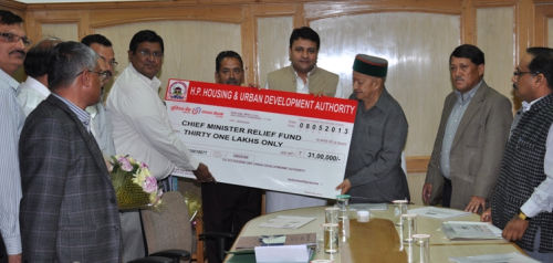 HP CM relief funds