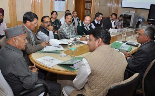 TCP review meeting