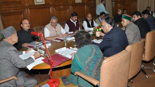 Himachal Pradesh cabinet meeting