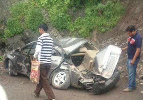 car accident in parwanoo