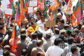 BJP protest at Kotkhai