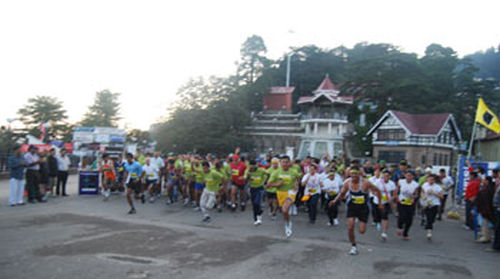 Shimla Running And Living Ultra Half Marathon