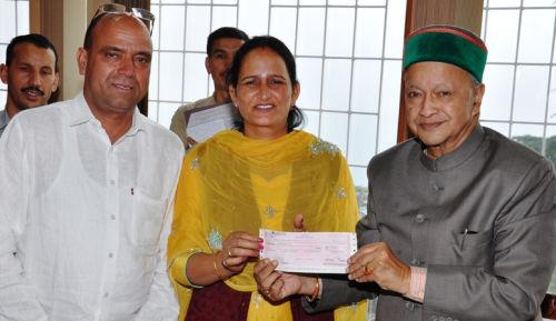 State Award winner JBT teacher  Krishna Devi
