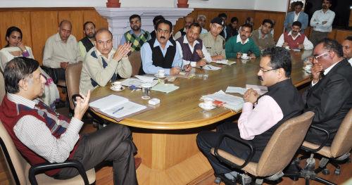 preparatory meeting for conducting Mock Drill at Shimla