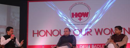 Anurag Thakur at Honour Our Women initiative