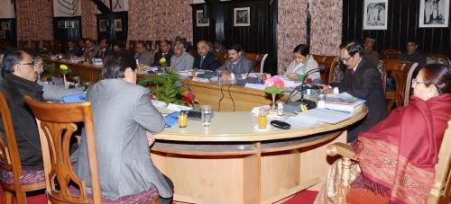 Senate Meeting of Chaudhry Sarwan Kumar Himachal Pradesh Agriculture University Palampur