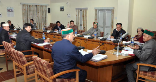 HP cabinet meeting