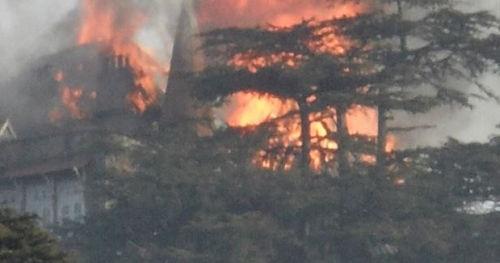 fire at shimla AG Office