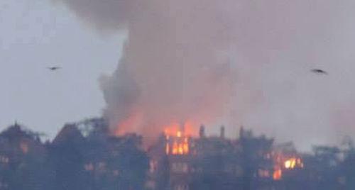 shimla AG Office burnt