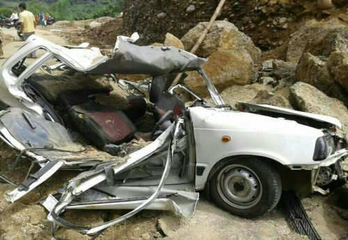 Nagrota car accident
