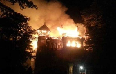 Fire in Himachal