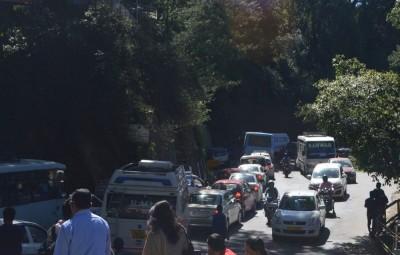 Shimla Traffic