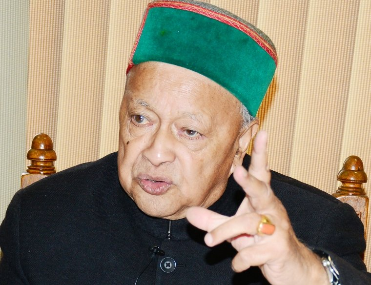 Virbhadra on NH Projects